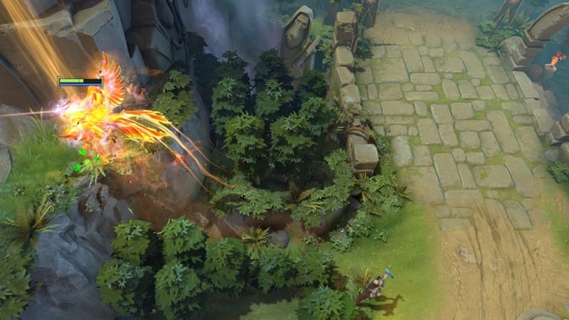 tips dan trik dota 2 manipulasi skill spell phoenix sun ray