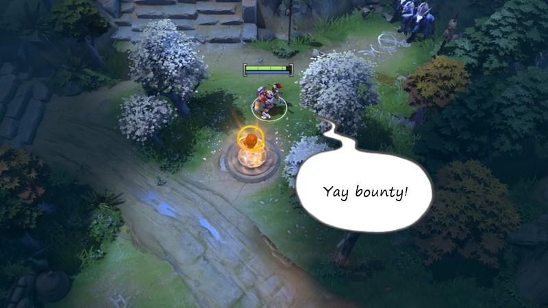 panduan bermain offlane dota 2 bounty rune