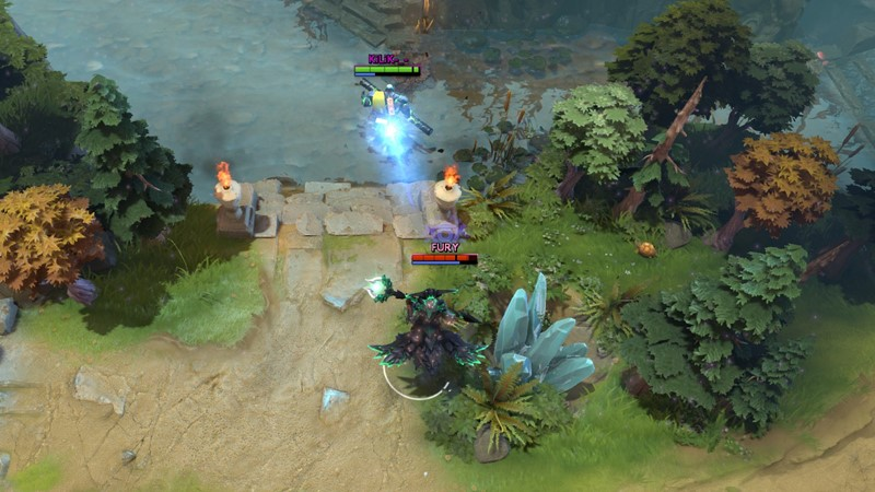 panduan hero dota 2 outworld devourer gameplay mid game