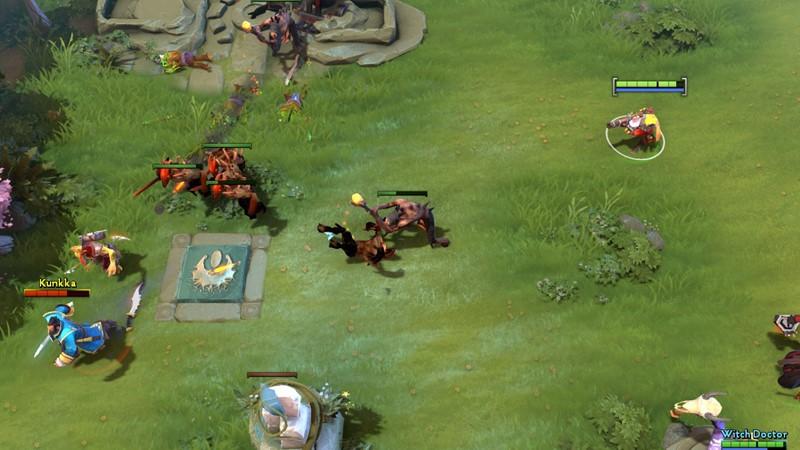 panduan hero dota 2 sniper gameplay 4