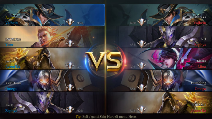 Perbandingan Mobile Arena Mobile Legends Screenshot 2