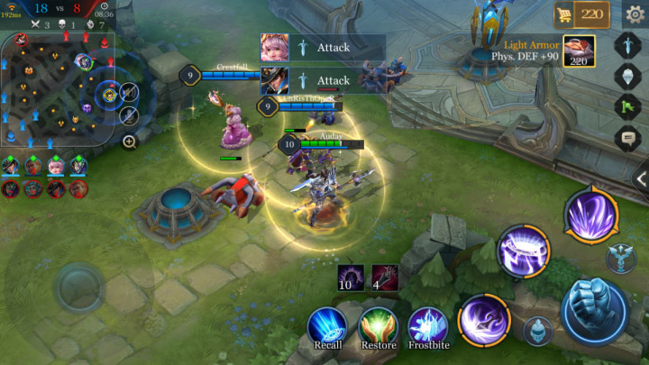 Perbandingan Mobile Arena Mobile Legends Screenshot 3