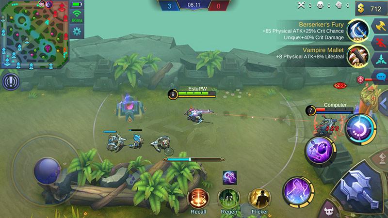 panduan hero mobile legends lesley 1
