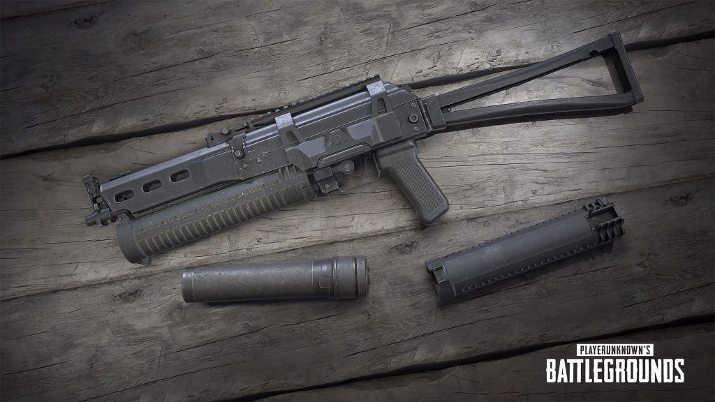 senjata baru vikendi pubg pubgm