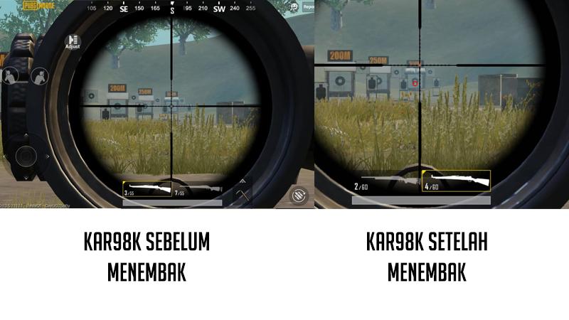 senjata pubg M24 atau Kar98k 1