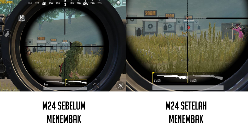 senjata pubg M24 atau Kar98k 2