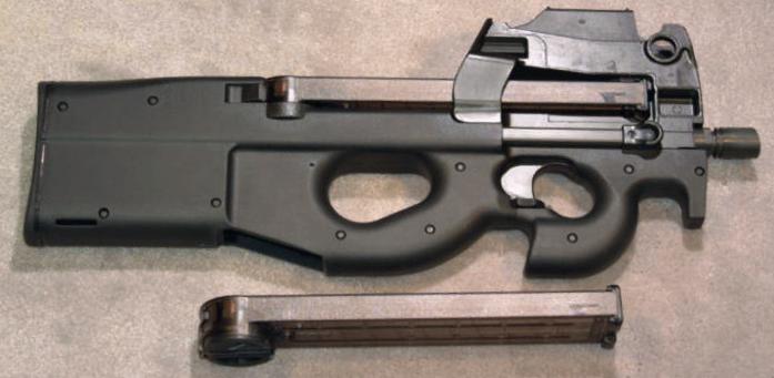 senjata baru pubg mobile livik p90